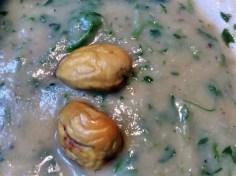 Petersilien,Pastinaken Suppe mit Maronen - 14.10.15 (19)