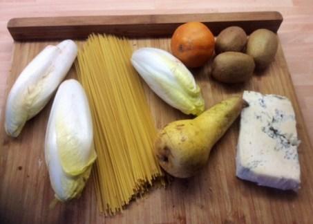 17.3.16 - Spaghetti mit Gorgonzolasauce,Chiccore Salat (3)