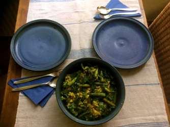 4.5.16 - Risotto,grüner Spargel,Apfelkompott (12)