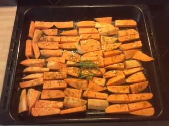 6.5.16 - Süßkartoffel,Fenchelsalat,Feldsalat,Guacamole,Joghurtdip (5)