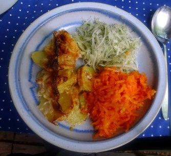 11.7.16 - Kartoffelkgratin,Salate,vegetarisch (11)