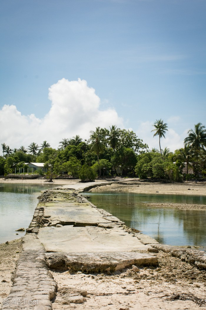 old road tarawa kiribati