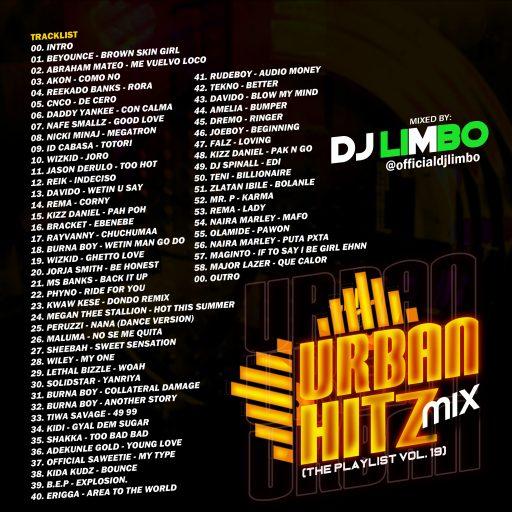 D Mix: DJ Limbo Nigeria - Urban Hitz Mix (TPM Vol.19)