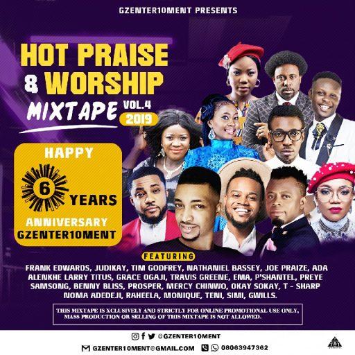 Gospel DJ Mix: Hot Praise & Worship Mixtape Vol.4 Hosted by Gzenter10ment