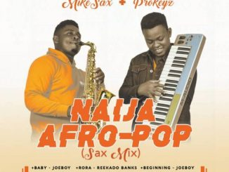 "Music: ""MIKE SAX"" – ""Naija AfroPop Sax Mix"".ft Prokeyz Muzic"