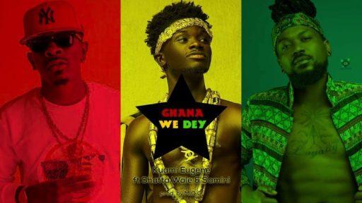 Kuami Eugene Ft. Shatta Wale Samini – Ghana We Dey