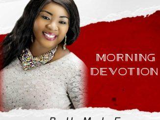 Gospel Music: Bumie Asuquo - Morning Devotion