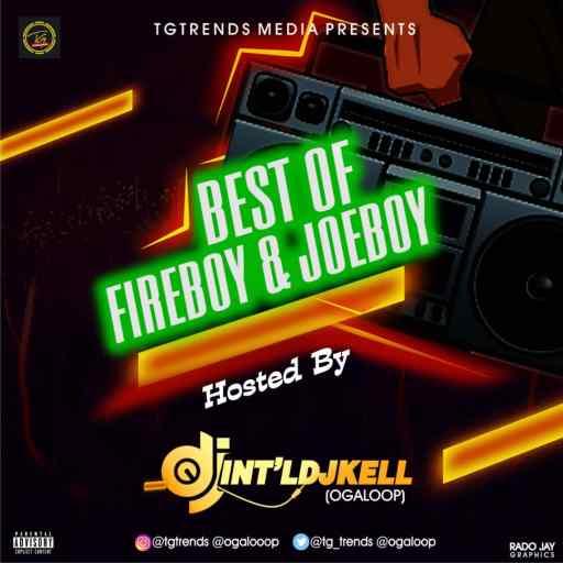 Dj Mix: TGtrends Ft. Int'lDJkell - Best Of FireBoy & JoeBoy Mixtape