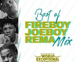 DJ MIX: World Exceptional DJ – Best Of Fireboy, Joeboy & Rema Mixtape
