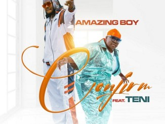 Music: Amazing Boy Ft. Teni - Confirm