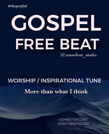 Freebeat: Gospel (Prod By Sense Beat)