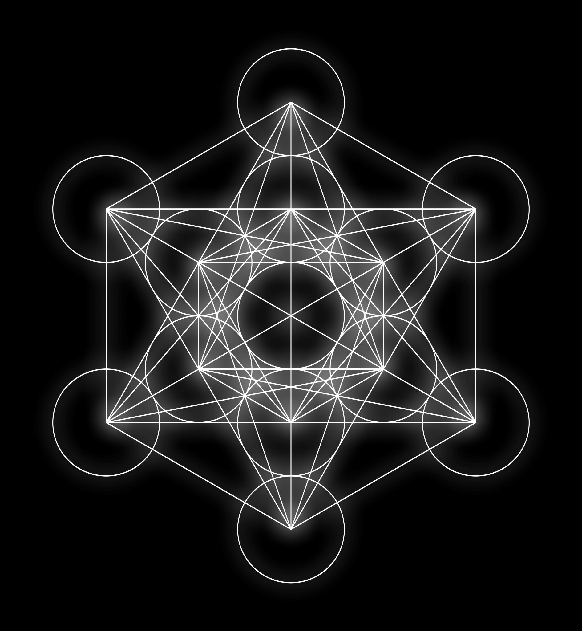 metatron's cube, sacred geometry, crystals, third eye,