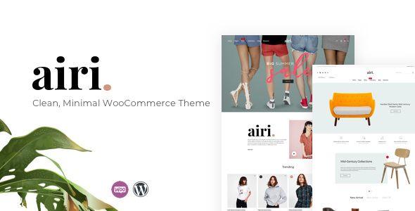 Airi v1.0.4 - Clean, Minimal WooCommerce Theme