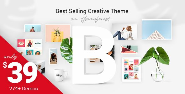 Bridge v13.5 - Creative Multi-Purpose WordPress Theme