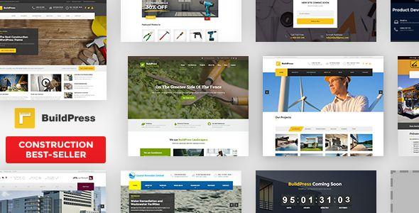 BuildPress v5.5.1 - Multi-Purpose Construction And Landscape
