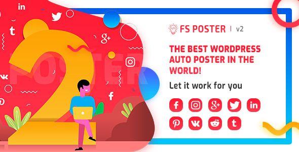 FS Poster v2.0.2 - WordPress Auto Poster & Scheduler