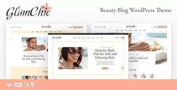 GlamChic v1.0.1 - Beauty Blog & Online Magazine Theme