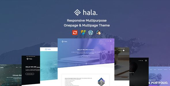 Hala v1.0.0 - Creative Multi-Purpose WordPress Theme