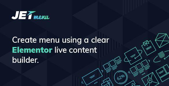 JetMenu v1.5.8.1 - Mega Menu For Elementor Page Builder