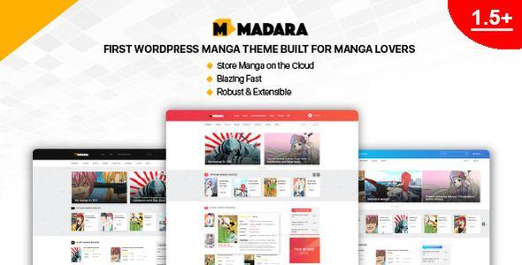 Madara v1.5.1.1 - WordPress Theme For Manga