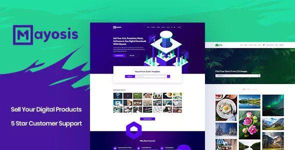 Mayosis v2.5.3 - Digital Marketplace WordPress Theme