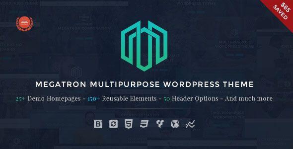 Megatron v2.9 - Responsive MultiPurpose WordPress Theme
