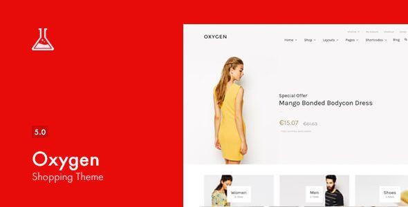 Oxygen v5.1 - WooCommerce WordPress Theme