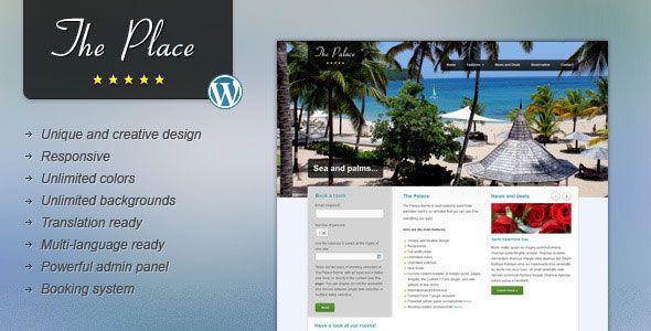 The Place v1.9.5 - Hotel WordPress Theme