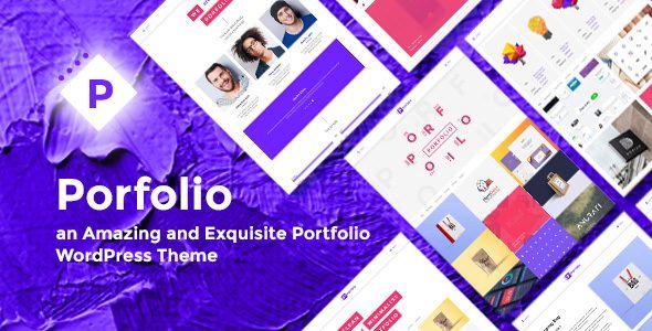 Porfolio v1.0 - Creative Agency & Personal Portfolio Theme