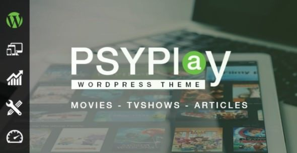 PsyPlay v1.2.5 - Theme For Movies & Series