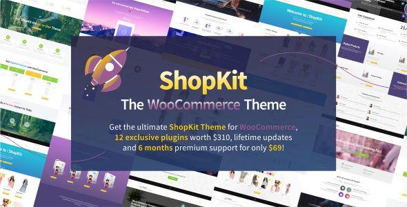 ShopKit v1.5.4 - The WooCommerce Theme