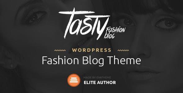 Tasty v1.1 - Responsive Blog WordPress Theme