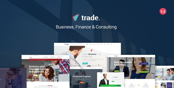 Trade v1.2 - Business And Finance WordPress Theme