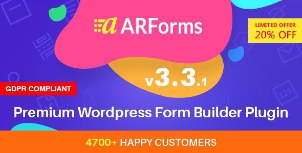 ARForms v3.3.1 - WordPress Form Builder Plugin