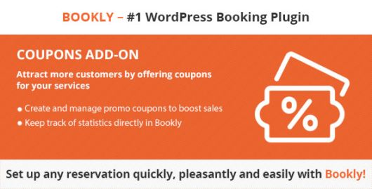 Bookly Coupons (Add-on) v1.7