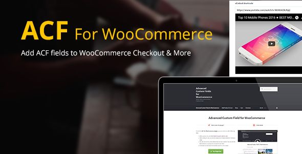 Advanced Custom Fields For WooCommerce v3.6
