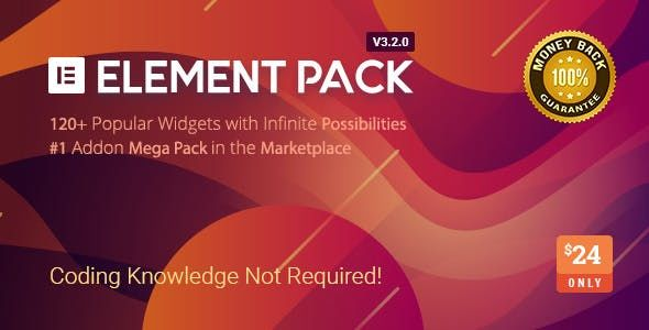 Element Pack v3.2.2 - Addon For Elementor Page Builder