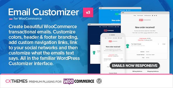 Email Customizer For WooCommerce v3.22