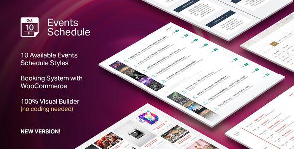 Events Schedule v2.4.4 - Events WordPress Plugin