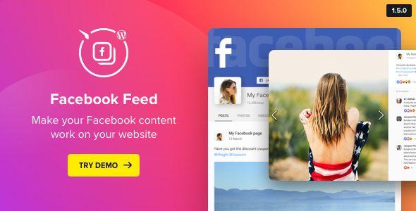 WordPress Facebook Plugin v1.5.0 - Facebook Feed Widget