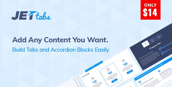 JetTabs - Tabs And Accordions For Elementor Builder