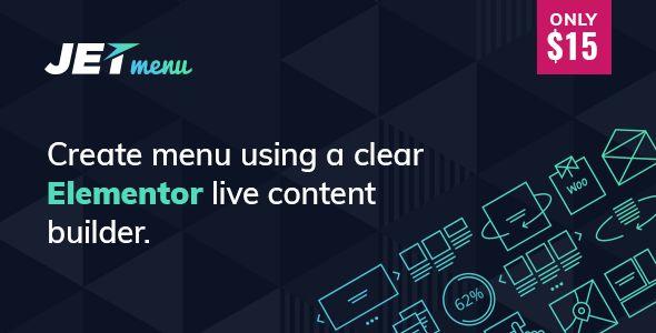 JetMenu v1.3.2 - Mega Menu For Elementor Page Builder