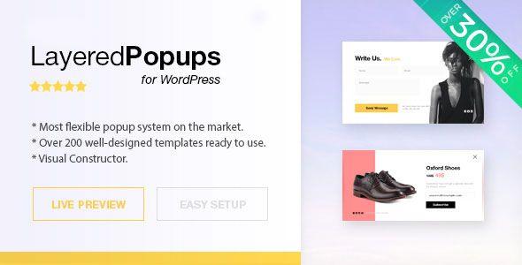 Layered Popups For WordPress v6.30