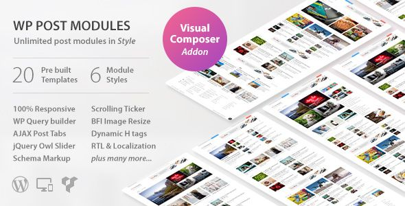 WP Post Modules For NewsPaper And Magazine Layouts v1.9.11
