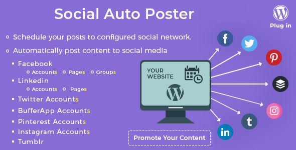 Social Auto Poster v2.6.6 - WordPress Plugin