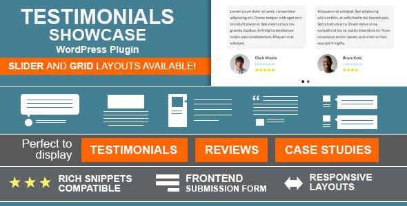 Testimonials Showcase v1.8 - WordPress Plugin