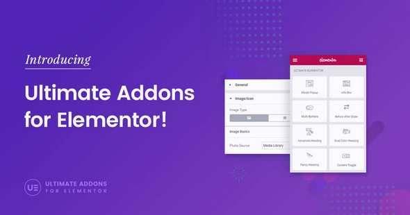 Ultimate Addons For Elementor v1.0.0-Beta.1