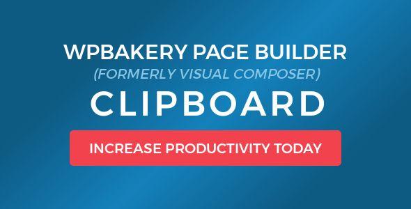 Visual Composer Clipboard v4.5.0
