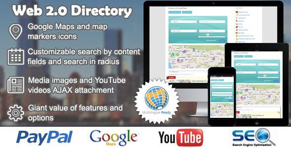 Web 2.0 Directory Plugin For WordPress v2.1.4