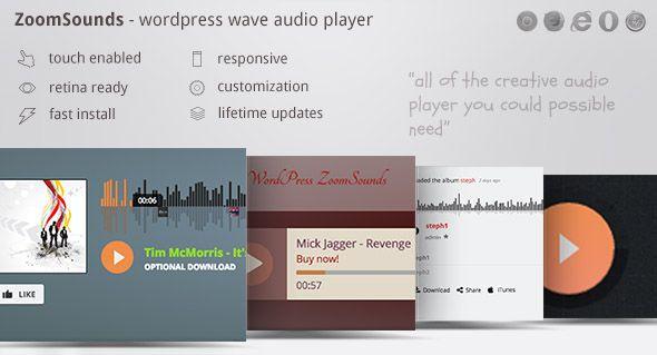 ZoomSounds v4.64 - WordPress Audio Player